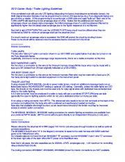 2012/13/14/15 Addenda de feux de carrosserie pour dispositif en chapelet