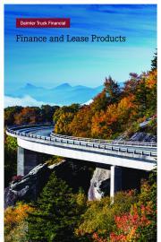Finance & Lease Brochure
